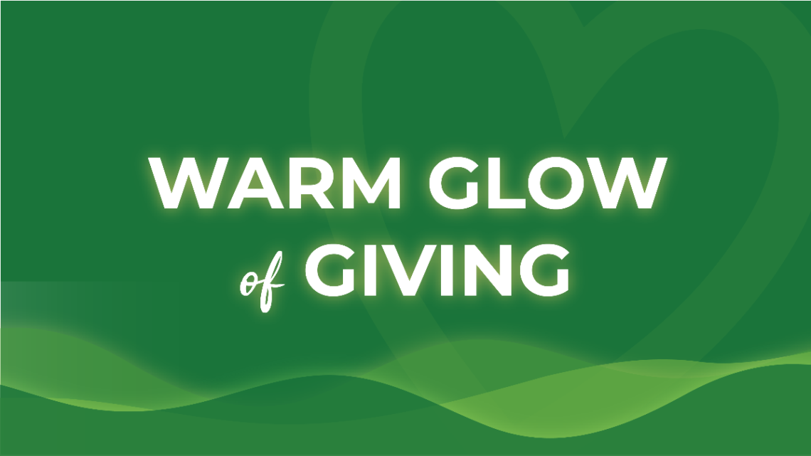 Warm Glow of Giving
