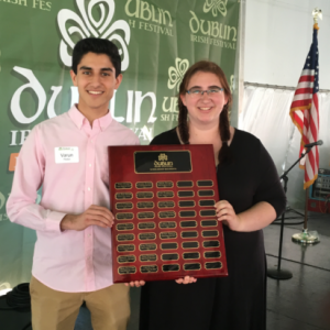 Dublin Irish Fest Scholarship Winners - Dublin Communtiy foundation